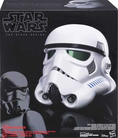 Hasbro - Star Wars The Black Series Imperial Stormtrooper Electronic Voice Changer Helmet - $55.99 + FS