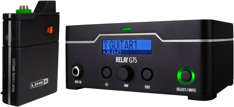 Line 6 G75 wireless guitar interface $299.99