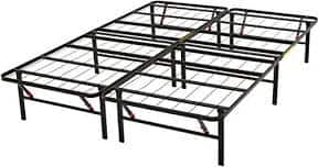 AmazonBasics Platform Bed Frame, Black, Queen $59 @ Amazon