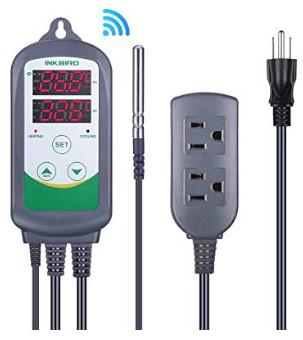 Inkbird WiFi ITC-308 Digital Temperature Controller Thermostat $34.99