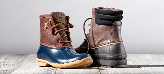 Sperry Saltwater Duck Boots $59.99 + Free Shipping