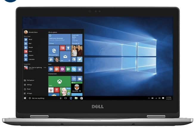 """Dell Inspiron 2-in-1 13.3"""" Laptop (Newest Model) - i7 6500u - 12GB Memory - 512GB SSD at Best Buy $850 after student coupon"""