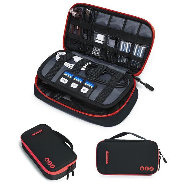 Electronics accessory travel organizer $15 + FS