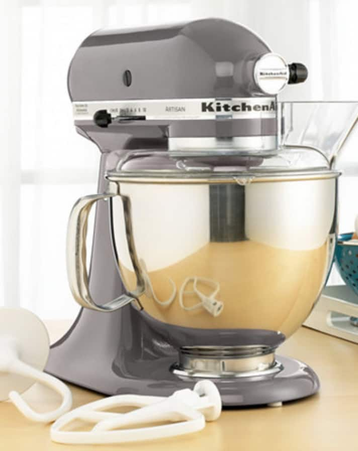 Awesome Kitchenaid KSM150PSSM Artisan 5 Qt. Stand Mixer   Silver Metallic Only  (+$40 Macyu0027s