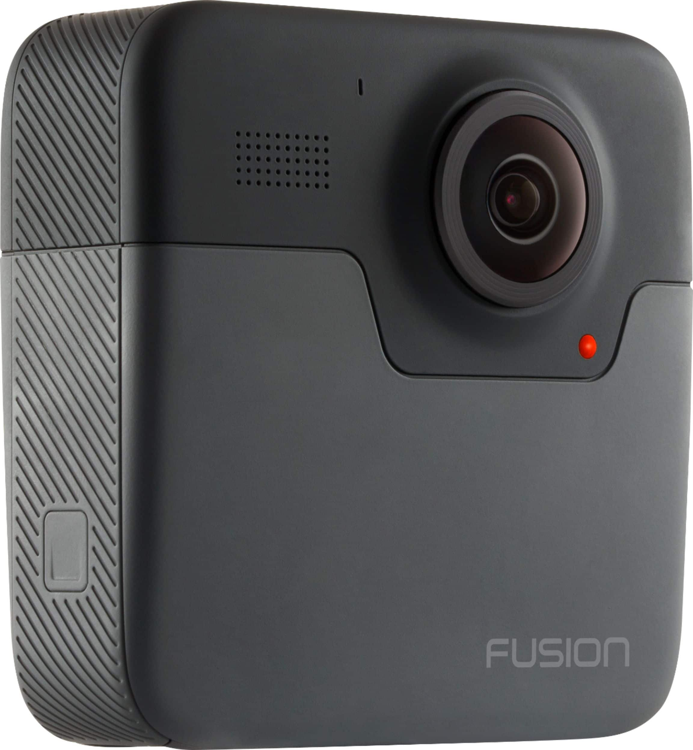 GoPro - Fusion 360-Degree Digital Camera - Black - $300 50% off