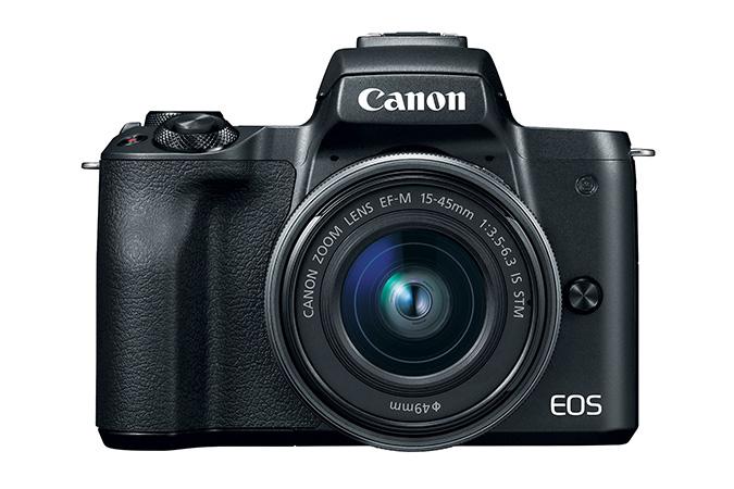 Refurbished EOS M50 EF-M 15-45mm f/3.5-6.3 IS STM Lens Kit Black $400 or $278 YMMW