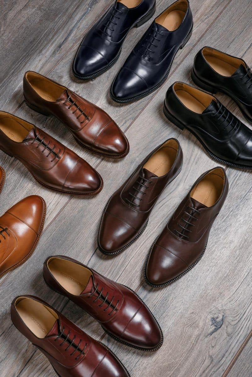 Men's Dress Shoes: Two Pairs of Beckett Simonon for $320 + Free Shipping