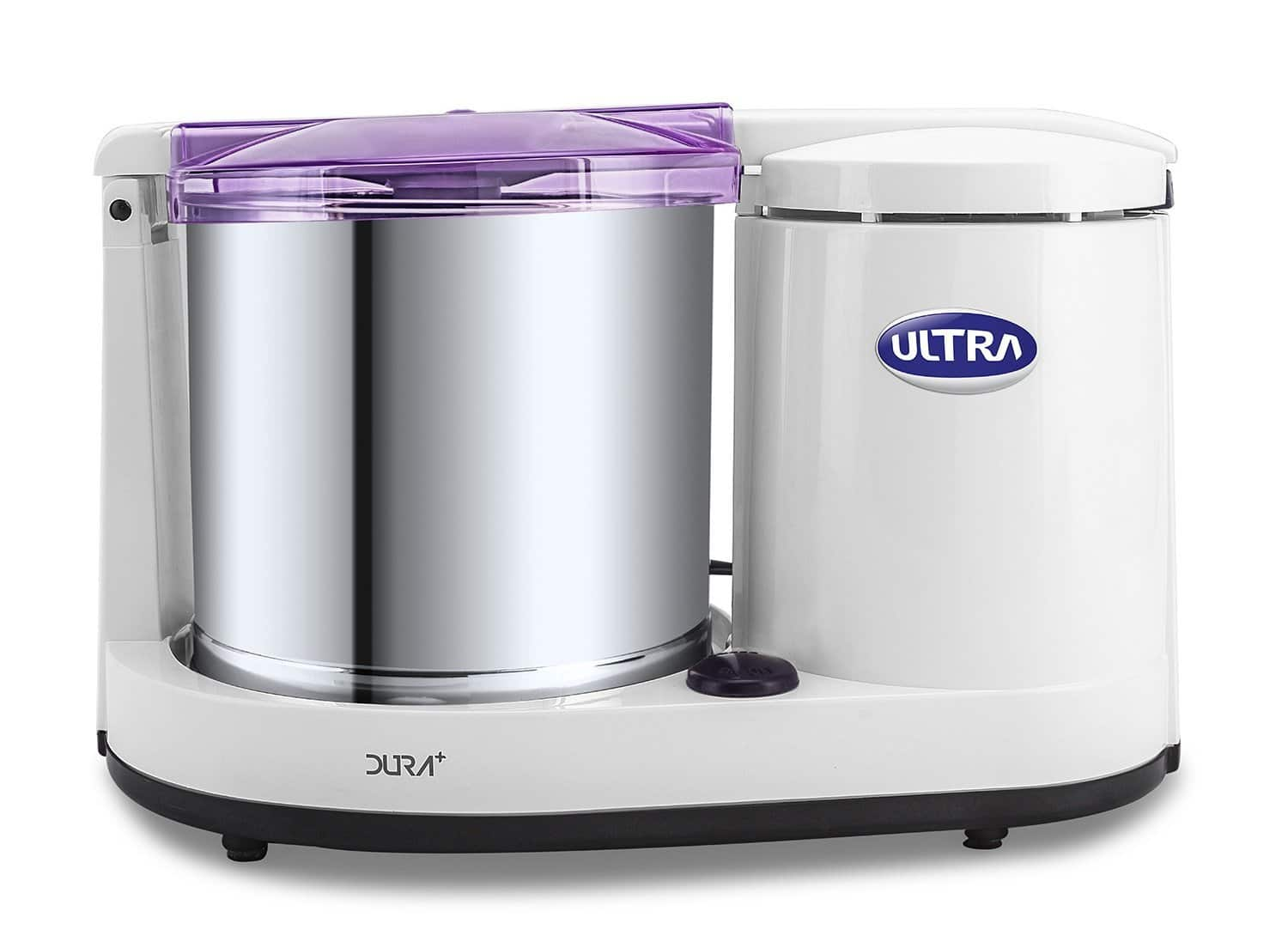 Used-Like New Ultra Dura+ Table Top 1.25L Wet Grinder with Atta Kneader - 173+Tax+FS $172.52
