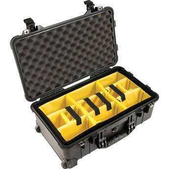 B&H and Amazon have Pelican 1510 Carry On Case with Yellow and Black Divider Set (Black) $179.95 (or with foam for $149.95)