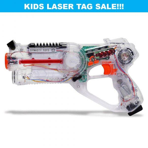 Dynasty Toys Laser Tag 4 pack with bug $14.99 or Jukibot with 2 blasters $9.99, $1.99 shipping per order