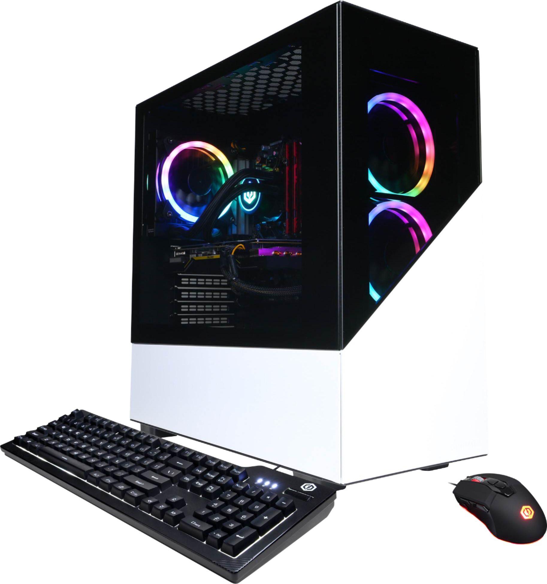 CyberPowerPC Gamer Supreme Gaming Desktop AMD Ryzen 7 3700X 16GB Memory NVIDIA GeForce RTX 3070 1TB SSD White SLC8600BST - $1599