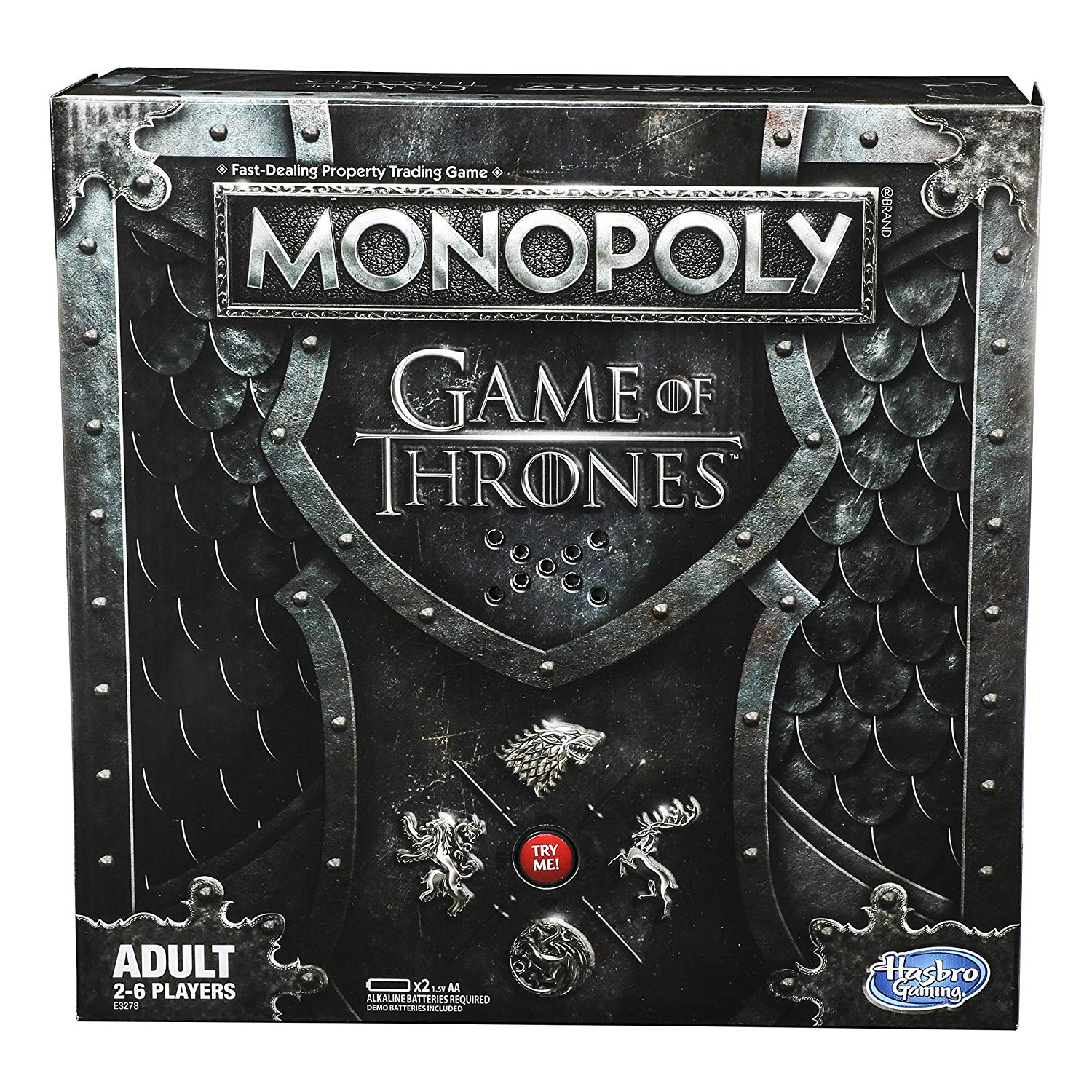 Monopoly Game of Thrones Board Game for Adults - Amazon $13.99