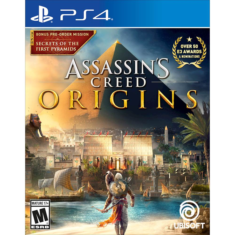 Assassins Creed Origins Xbox One / PS4 $34.99 Bestbuy
