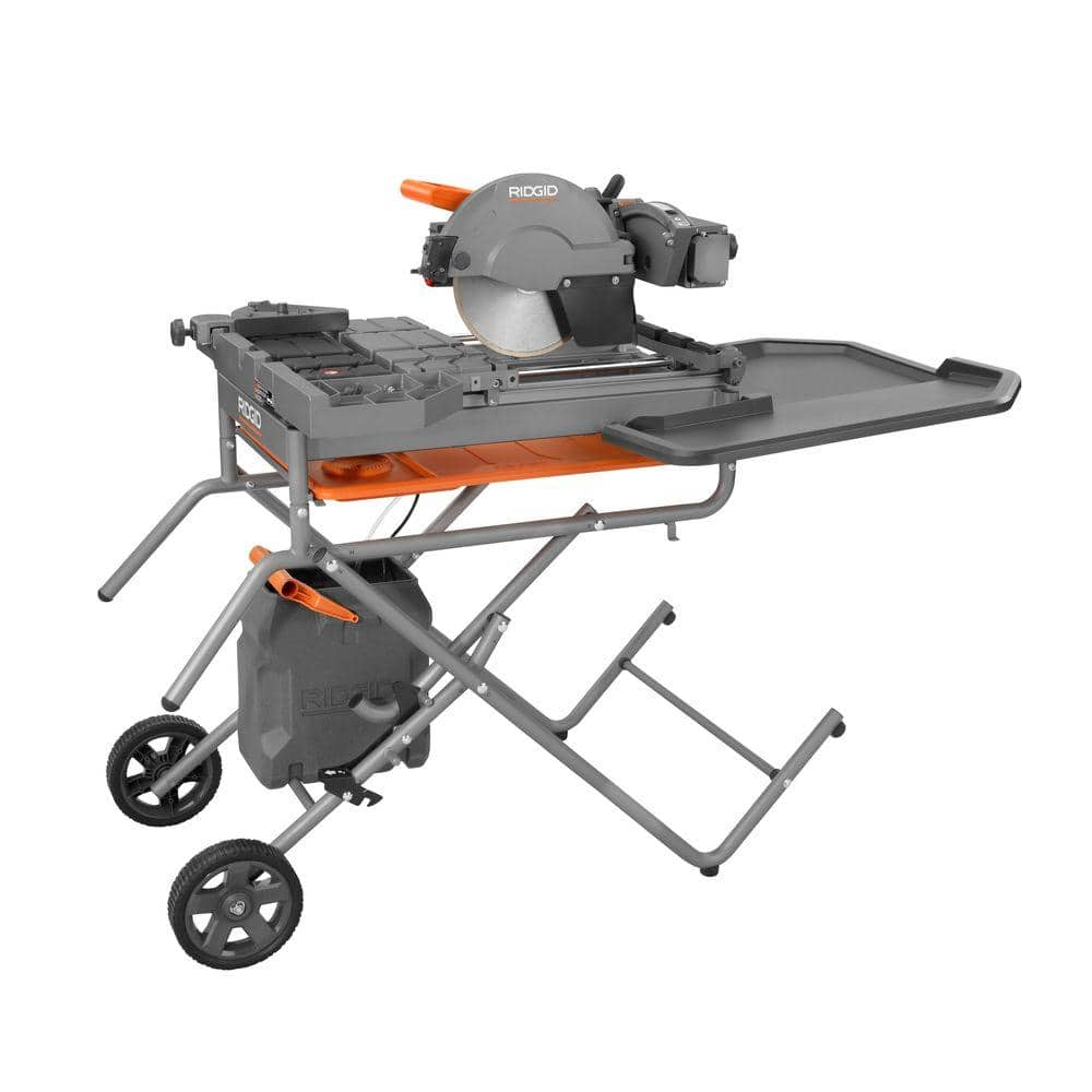 Ridgid 10 Wet Tile Saw W Stand Slickdeals