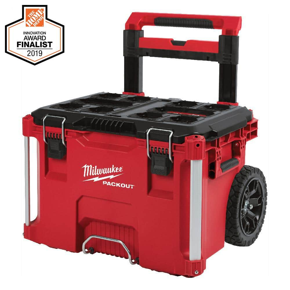 Milwaukee PACKOUT 22 in. Rolling Tool Box Home Depot $65 plus tax, toolbox $35, must use area code 90292 Large $40 and Small box $35 back in stock 25504 big shout out to ATF.