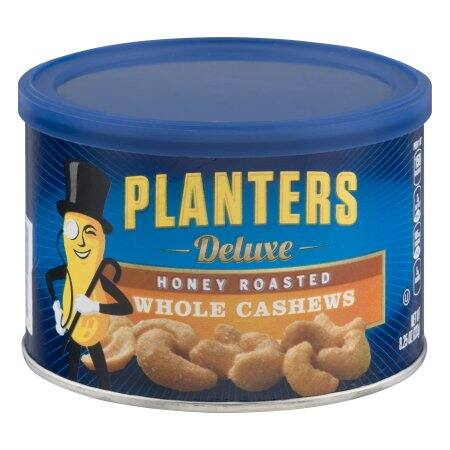 YMMV - Planters deluxe whole honey roasted cashews - $4.83