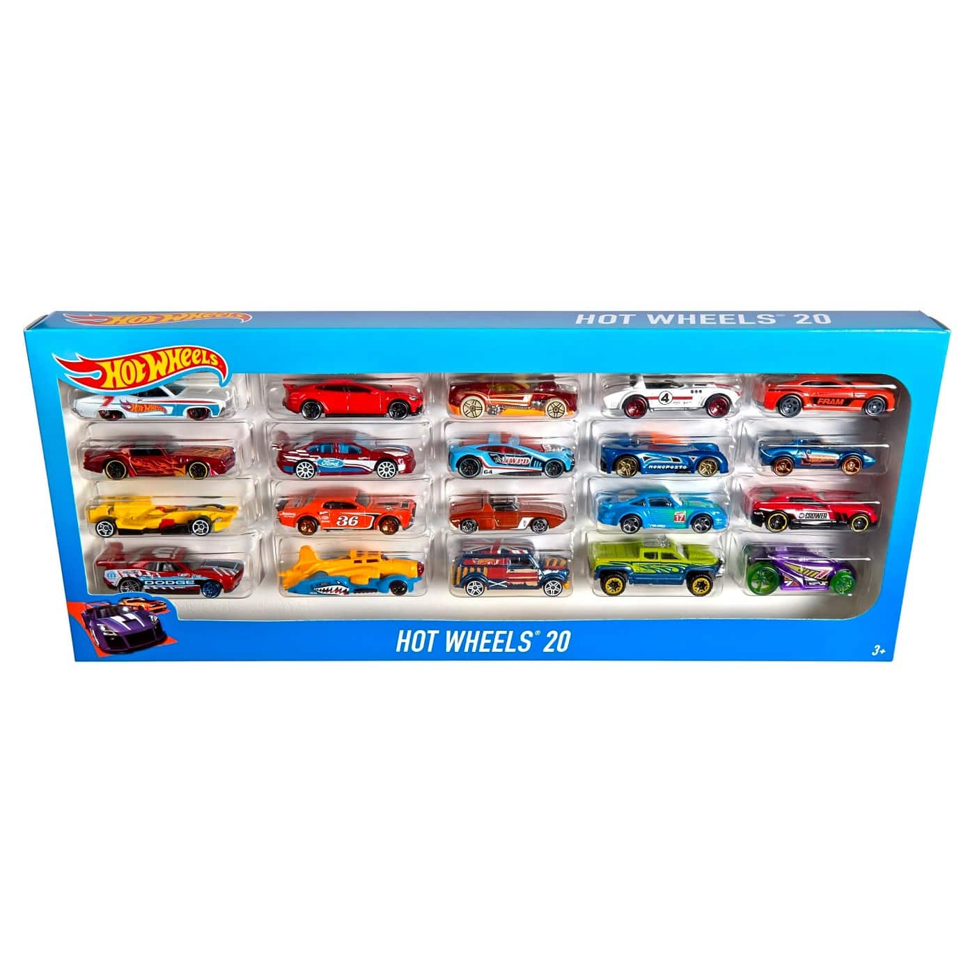 Hot Wheels 20 pack $14.39 @ Amazon, prime eligible