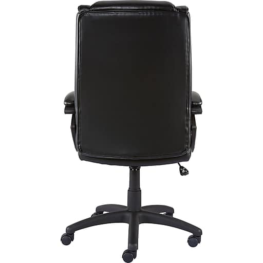Staples Kelburne Luxura Faux Leather Computer and Desk Chair, Black (50859) $90-15 = $75 with coupon code 30231