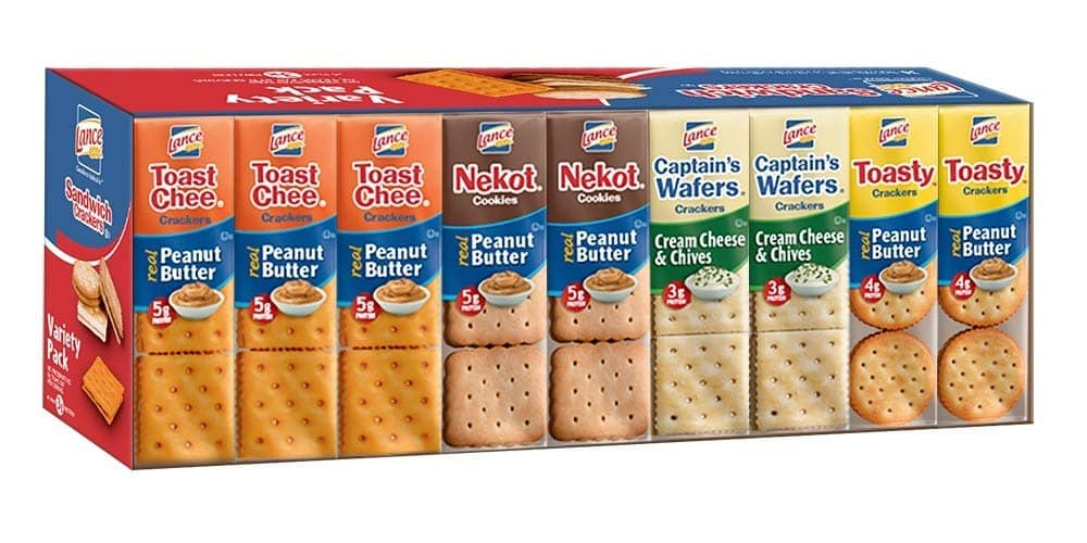 Lance Sandwich Crackers, Variety Pack, 36 Count $8.12