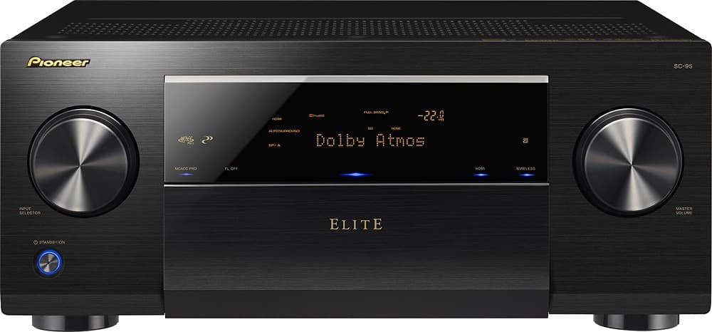 pioneer elite SC-95 11.2 (9.2 powered) channel atmos receiver $999 ($899 open box) - back again