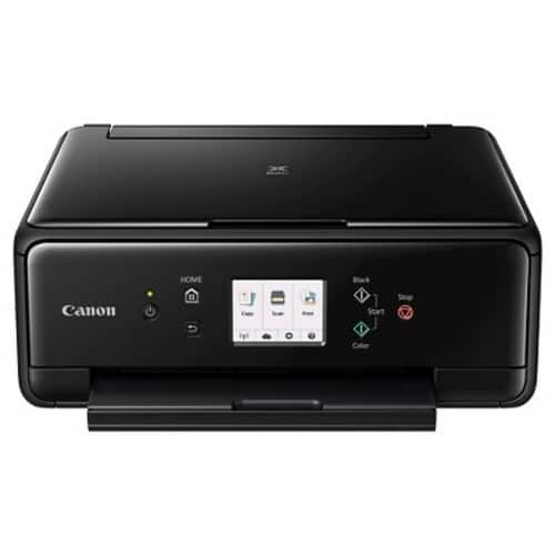 Canon PIXMA TS6020 Wireless All-in-One Inkjet Printer (Black) $65