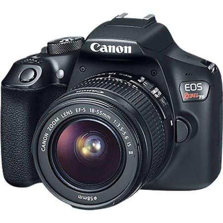 Canon T6 digital camera $299 @ Walmart YMMV