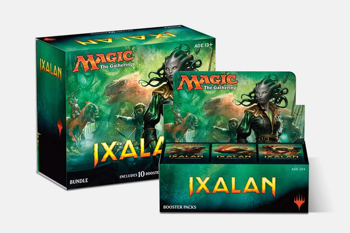 Magic the Gathering - Ixalan Booster + Fat Pack bundle $112.99, Ixalan Booster Box $87.99, Ixalan Fat-Pack $29.99