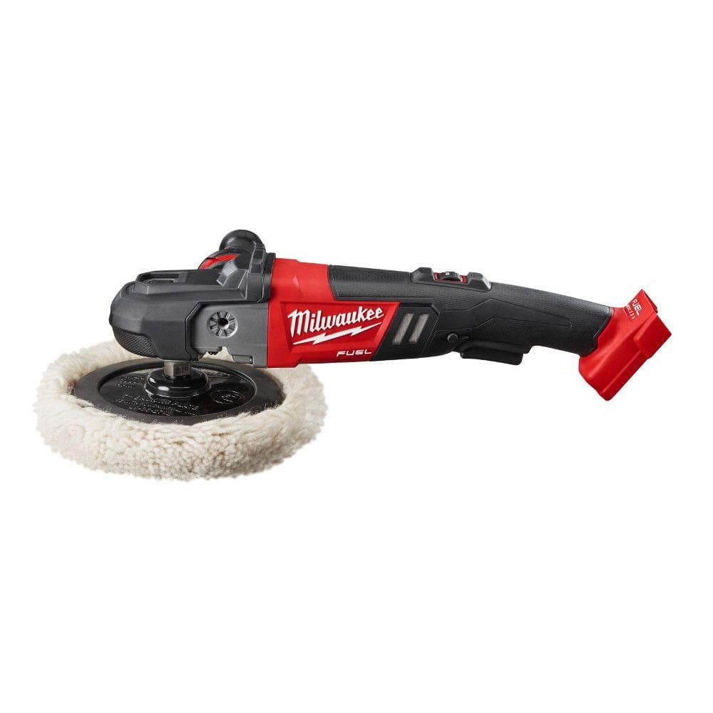Milwaukee M18 FUEL Brushless Cordless 7 in. Variable Speed Polisher 2738-20  (Tool-Only) YMMV $125