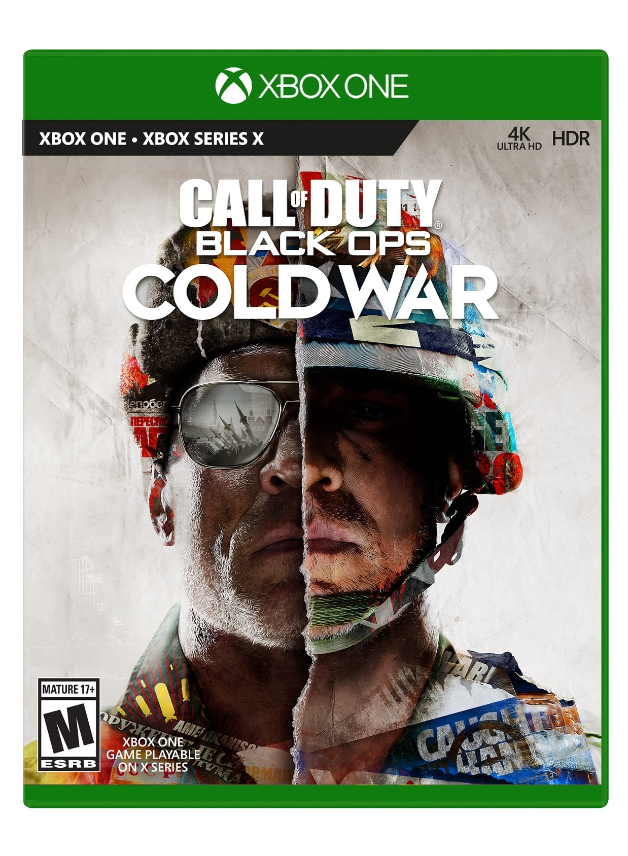 Call of Duty: Black Ops Cold War Xbox One Physical Copy - $39.99