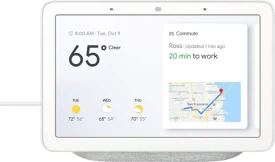 Google Home Hub $64.99 with Coupon from Mass Genie Power Deal