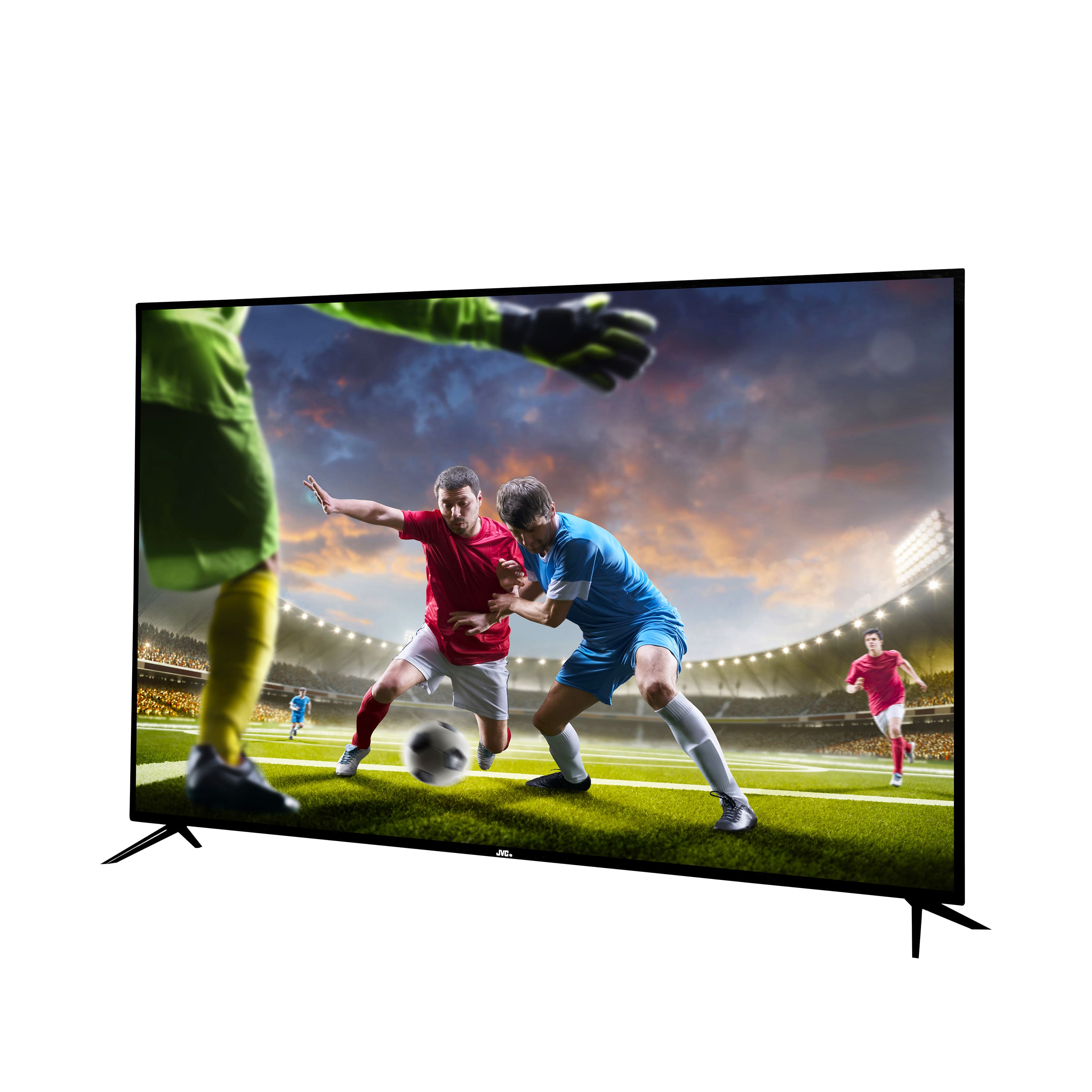 "JVC 65"" CLass 4K (2160p) HDR Smart TV with Built-in Chromecast"