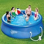 Summer Escapes 12' Quick Set Ring Pool with Pump with GFCI $59.99 @ Walmart