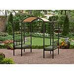 Better Homes and Gardens Ravenswood Arbor with Seating $149 + FS