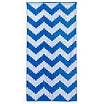 The Big One 36x72 Chevron Cotton Beach Towel $5 @ Kohls