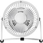 "Insignia High-Velocity 4"" Mini Fan  White $5.99 @ Best Buy"
