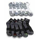 20-Pack: Men's HEAD Moisture-Wicking Socks $22.99 + FS