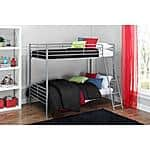 Mainstays Twin over Twin Convertible Bunk Bed (Can Convert into 2 Separate Beds) $99.50 + FS