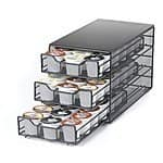 K-Cup 3-Tiered Storage Drawers:  54-Ct Capacity $15.99  or 36-Ct Capacity $11.99 + FSSS