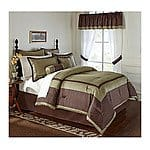 24-Pc LivingQuarters Comforter Set (Queen or King) $48 + FS