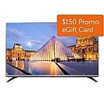 "LG 43"" LED 43LF5400 1080p HDTV + $150 Dell eGift Card $350 + FS"
