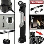 Craftsman Rechargeable, Adjustable & Magnetic LED Work Light $16.99 + FS