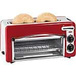 Hamilton Beach 2-in-1 Toastation 2-Slice Toaster & Oven $29.96 @ Walmart & Amazon (Prime Only)