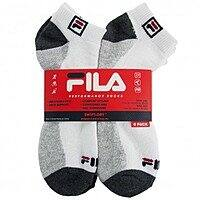 Deal Genius Deal: 6-PK Men's FILA Swift-Dry Socks $6 or 12-PK Jerzees No Show Socks for Boys/Girls $6 + FS