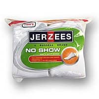 10-PK Jerzees Men's No-Show Socks $  5.94 + FS