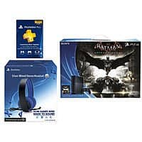 eBay Deal: Sony PS4 Batman Bundle w/ Silver Headset + 3-mo PS Membership