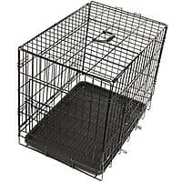 eBay Deal: OxGord Steel Pet Kennel Foldable w/ Double Doors, Divider, ABS Plastic Pan & Detachable Handle from $21.71 + FS