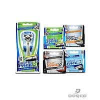 Dorco USA Deal: Dorco Men's Shaving Kit Trial Pack: 1x Handle + 18 Cartridges