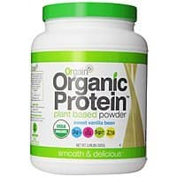 Amazon Deal: 2lbs Orgain Organic Protein Plant-Based Powder (Vanilla Bean)