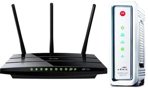 Networking Deals: Motorola SurfBoard SB6141 DOCSIS 3.0 Cable Modem + TP-LINK Archer C7 Wireless AC1750 Dual Band Gigabit Router for $129.99 & More @ Newegg.com