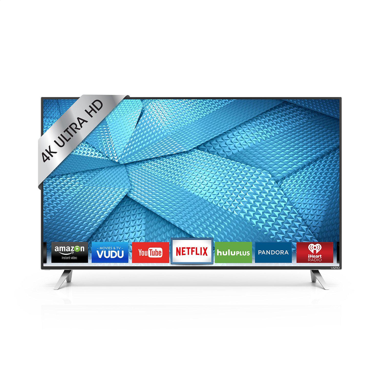 """Vizio 43"""" 4k Ultra HD Smart TV + $200 Dell eGift Card $548 + FS"""